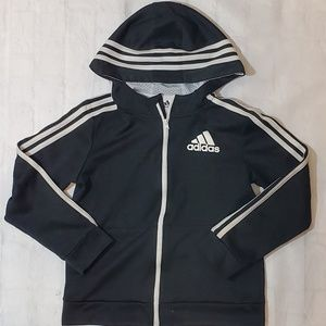 ***SOLD***Adidas Dark Gray Hoodie Jacket